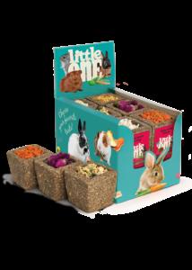Little One Rétifű Kocka Különböző töltelékkel (paszternák, cukkíni, sárgarépa, alma, rósza, sütőtök), 65 g