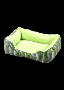 PAWISE Kutyafekhely Cuddler Zöld Csíkos 50 cm