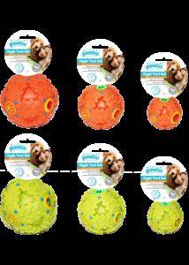 Pawise kutyajáték jutalomfalat adagoló labda 7 cm