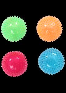 Pawise kutyajáték TPR pattogó labda 8 cm tüskés