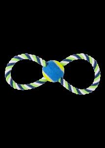 PAWISE Kutyajáték Köteles 8-as Teniszlabdával 30 cm