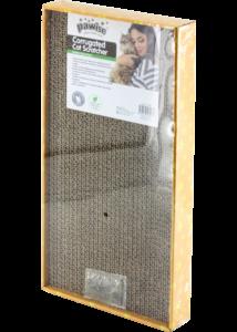 PAWISE Macskakaparó Karton Macskamentával Nagy