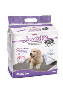AssorbiPiu aktív karbonos kutyapelenka 60x60, 10 db