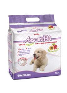 AssorbiPiu illatosított kutyapelenka 60x60, 10 db