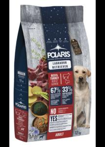 POLARIS 12 kg Labrador marha-pulyka  (2 db) + ajándék Shelma 750 g (5 db)