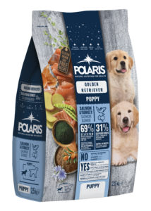 POLARIS 2.5 kg Junior Golden Retriever lazac-pulyka