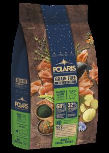 """POLARIS  5 kg Small lazac-bárány + ajándék Flexi Comfort """"S"""" fekete (tape)"""