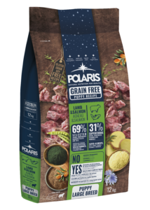 POLARIS 12 kg Junior Large bárány-lazac