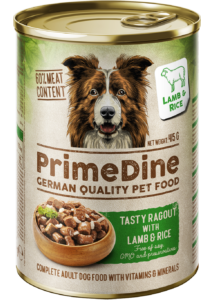 Primedine bárány-rizs 415 g kutya konzerv