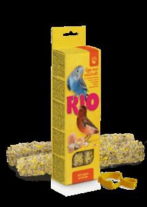 RIO Dupla Rúd Kiegészítő madáreleség tojással és Kagylóhéjjal 2x40 g