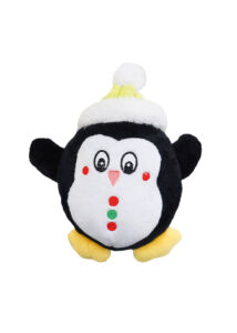 RECORD Karácsonyi Kutyajáték Pingvin 16 cm