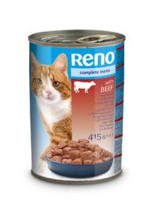 Reno Nedves Macska marha 415 g