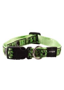 Rogz FANCY DRESS nyakörv S 11 mm Zöld mintás