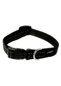 Rogz UTILITY nyakörv XL 25 mm Fekete