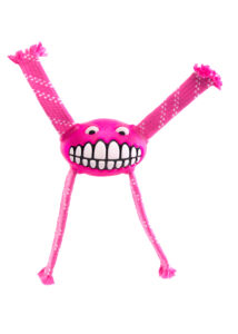"Rogz FLOSSY GRINZ ""S"" 16,5 cm Pink kutyajáték"