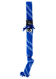 Rogz SCRUBZ M 44 cm Kék kutyajáték