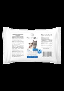 SERUM Hypoallergén nedves törlőkendő 60 db - Aloe Vera