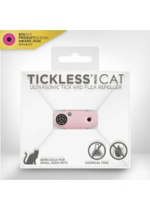 TICKLESS MINI CAT Pink ultrahangos kullancsriasztó