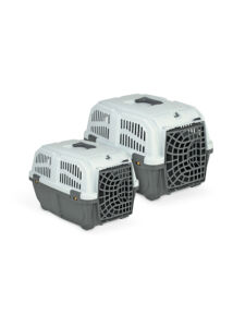SKUDO 1 PLASTIC műanyagajtós szállítóbox 48x31,5x31 cm