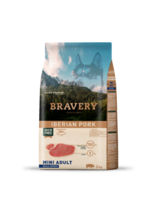Bravery Iberian Pork Mini Adult Small Breeds 2 kg kutyatáp