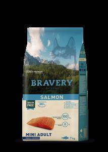 Bravery Salmon Mini Adult Small Breeds 7 kg kutyatáp