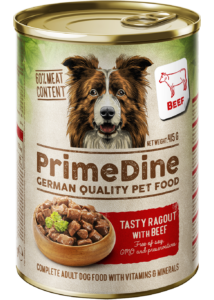Primedine marha 415 g kutya konzerv