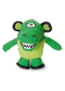 Record Monster kutyajáték plüss krokodil 18 cm