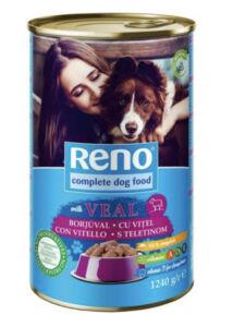 Reno borjú 1240 g kutya konzerv