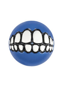 Rogz GRINZ labda L 7,8 cm Kék