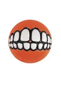 Rogz GRINZ labda L 7,8 cm Narancs
