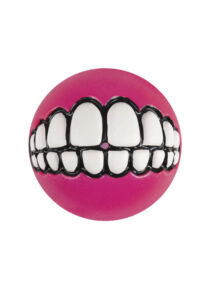Rogz GRINZ labda M 6,4 cm Pink