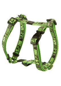 Rogz FANCY DRESS H-Hám S Zöld mintás
