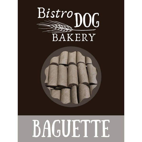 Bistro Dog Bakery Baguette jutalomfalat kutyáknak 5 kg (kb. 65 x 75 g)