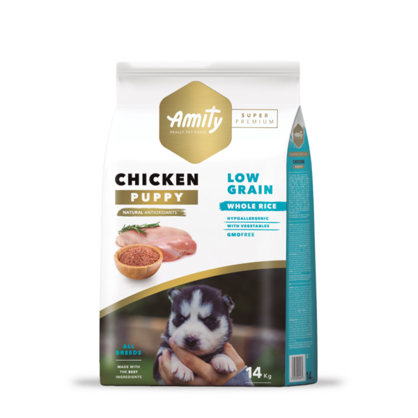 Amity Hypoallergen Puppy Chicken 4 kg kutyatáp