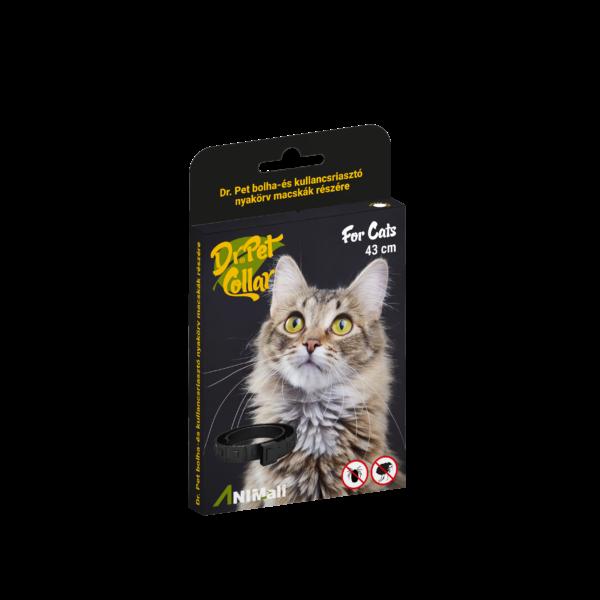 Dr.Pet riasztó nyakörv cica
