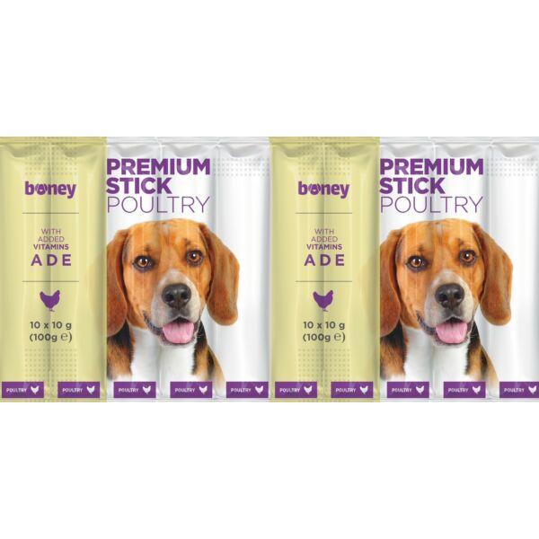 BONEY Premium jutalomfalat kutyának 10x10g - marhás