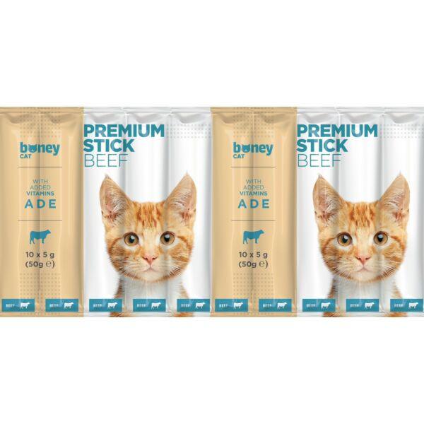 BONEY Premium jutalomfalat macskának 10x5g - szárnyas