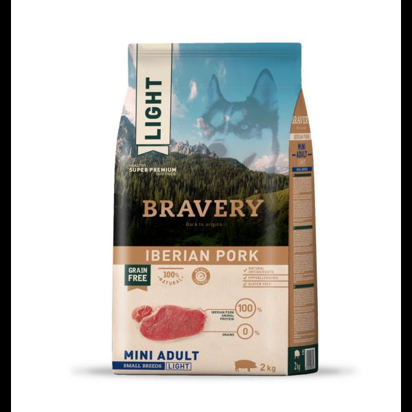 BRAVERY 4 kg LIGHT ibériai sertés