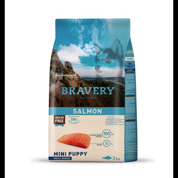 Bravery Salmon Mini Puppy Small Breeds 2 kg kutyatáp