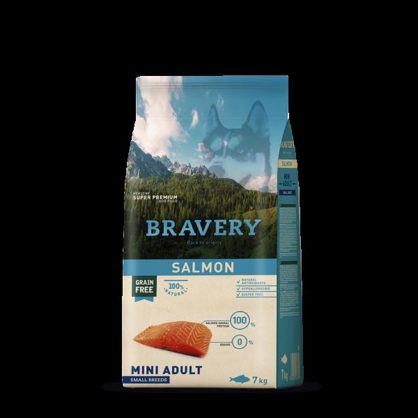 Bravery Salmon Adult Large/Medium Breeds 4 kg kutyatáp