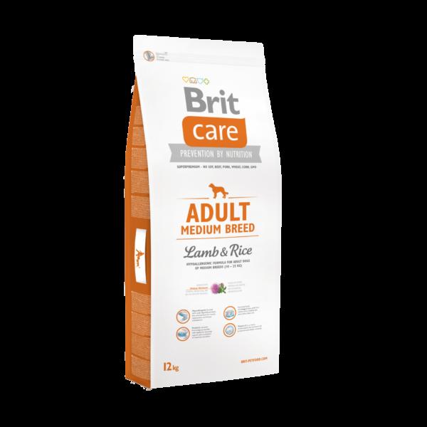 Brit Care Medium Adult Lamb& Rice 12 kg