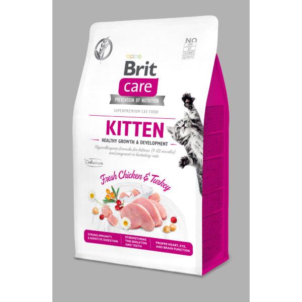 BRITCare Cat KITTEN csirke-pulyka 400 g