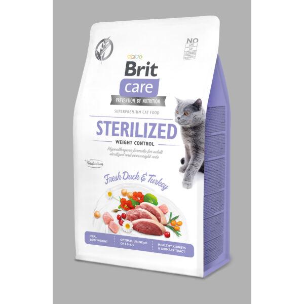 BRITCare Cat STERILIZED WEIGHT CONTROL kacsa 2 kg