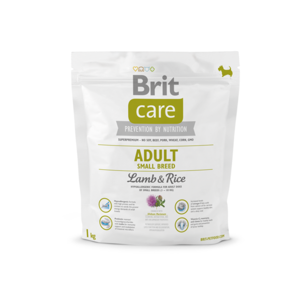 Brit Care Adult Small Breed Lamb&Rice 1 kg