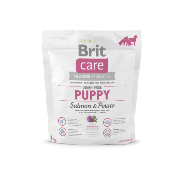 Brit Care Puppy Salmon&Potato   1 kg