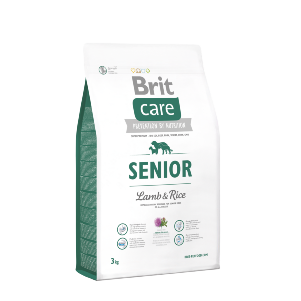 Brit Care Senior Lamb&Rice 3 kg