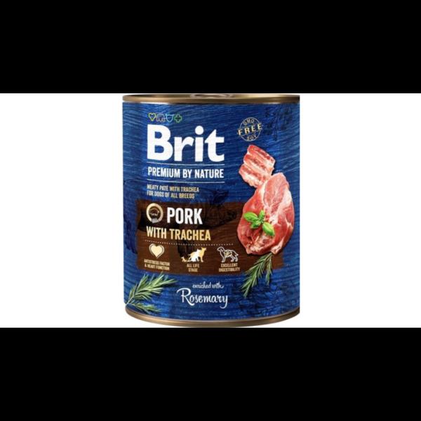Brit Pr By Nature Pork with Trachea 800 g