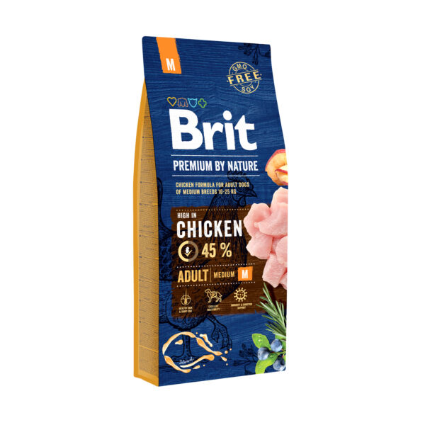 Brit Premium Medium Adult 15 kg