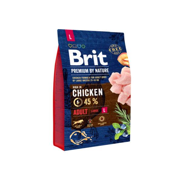 Brit Premium Adult Large firss csirke 3kg
