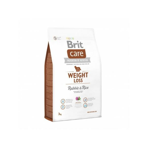 Brit Care Weight Loss Rabbit&Rice 3 kg